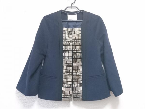 スリーワンフィリップリム ジャケット サイズ2 S レディース美品  黒×シルバー