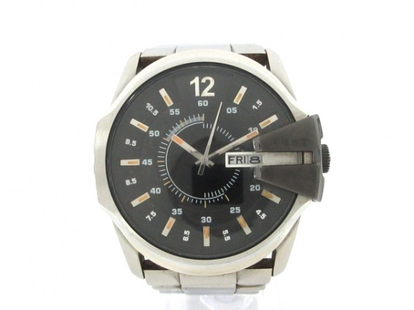 DIESEL(ディーゼル) 腕時計 DZ-1208 メンズ 黒