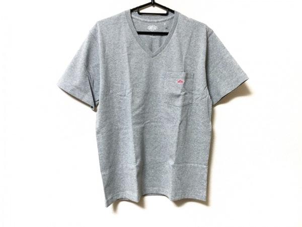DANTON(ダントン) 半袖Tシャツ サイズ38 M メンズ美品  グレー