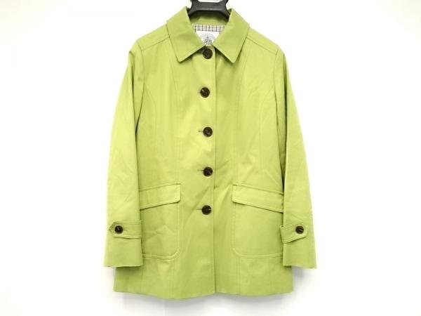 J.PRESS(ジェイプレス) コート サイズ11 M レディース ライトグリーン 春・秋物
