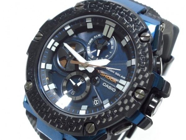 CASIO(カシオ) 腕時計美品  G-SHOCK GST-B100 メンズ 黒