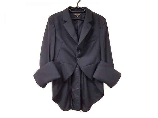 COMMEdesGARCONS(コムデギャルソン) ジャケット サイズS レディース美品  黒