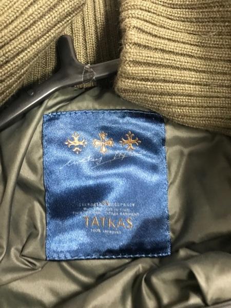 TATRAS(タトラス) ダウンコート サイズ1 S レディース GIOVE LTA13A4219 カーキ 冬物