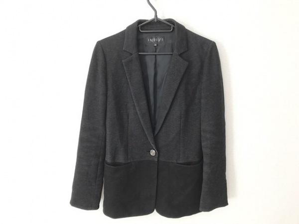 INDIVI(インディビ) ジャケット サイズ36 S レディース 黒