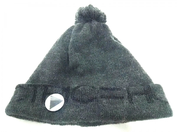 CA4LA(カシラ) ニット帽 グレー ウール