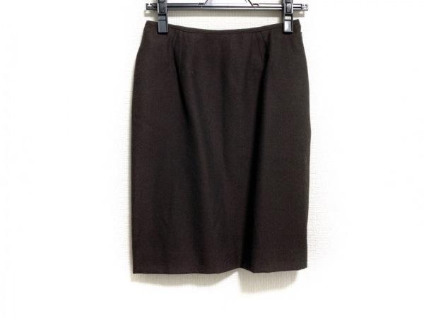 JeanPaulGAULTIER(ゴルチエ) スカート サイズ40 M レディース美品  ダークブラウン