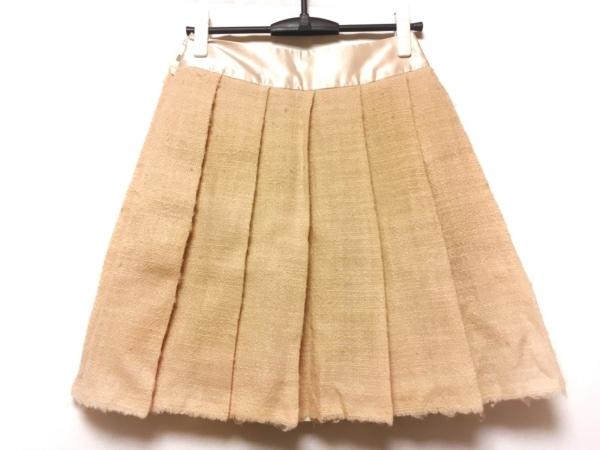 DRESSTERIOR(ドレステリア) スカート サイズ36 S レディース ピンクベージュ プリーツ