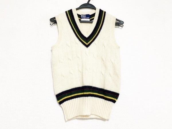 ポロラルフローレン ノースリーブセーター レディース美品  - - クルーネック