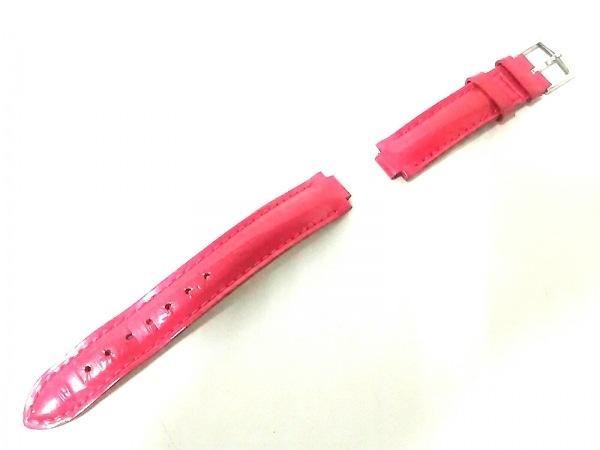 ルイヴィトン 小物 モノグラムヴェルニ美品  ローズポップ 腕時計用替えベルト