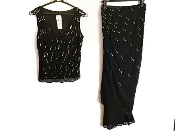 モスキーノ チープ&シック スカートセットアップ サイズ38 S レディース美品  黒