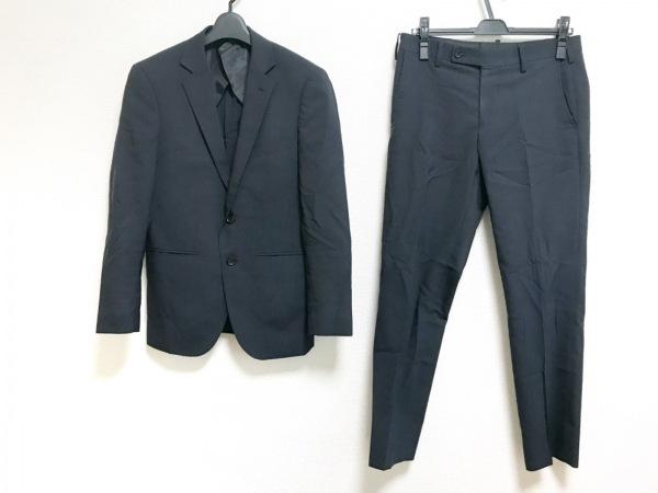 ザ ショップ ティーケー シングルスーツ サイズS メンズ ダークグレー×グレー