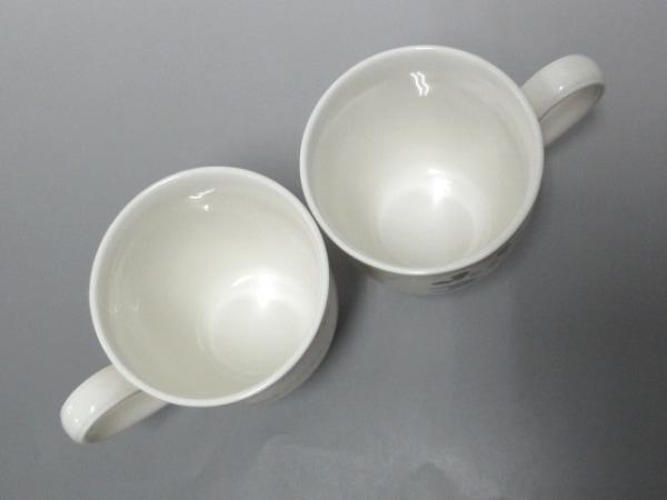 Noritake(ノリタケ) マグカップ新品同様  白×ピンク×マルチ 陶器 2