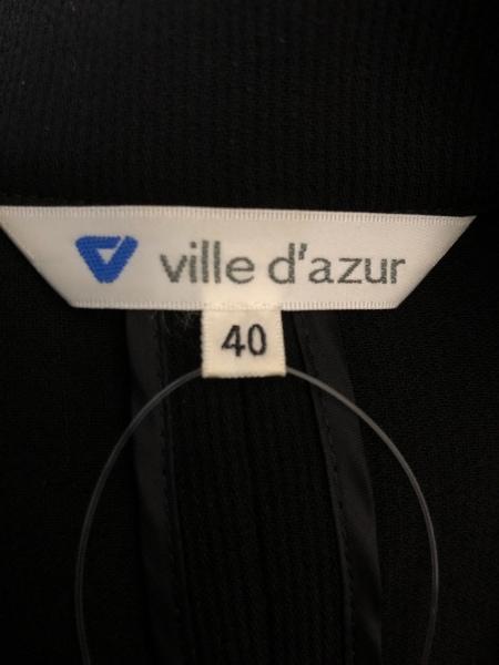 ビルダジュール ジャケット サイズ40 M レディース 黒 肩パッド 3