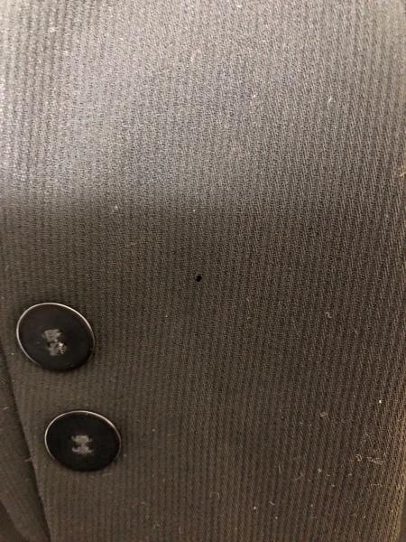ビルダジュール ジャケット サイズ40 M レディース 黒 肩パッド 5