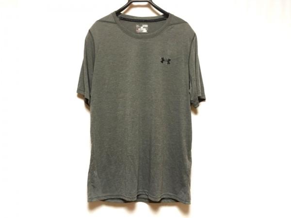 UNDER ARMOUR(アンダーアーマー) 半袖Tシャツ サイズXL メンズ ダークグレー