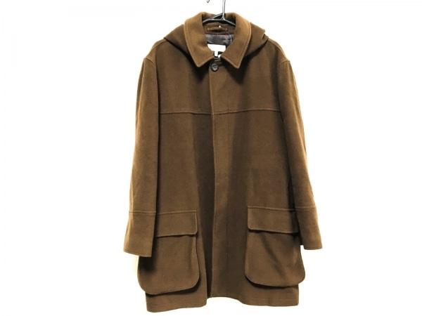 ErmenegildoZegna(ゼニア) コート サイズ50 メンズ美品  ダークブラウン 冬物