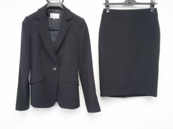 M-PREMIER(エムプルミエ) スカートスーツ サイズ34 S レディース 黒 肩パッド