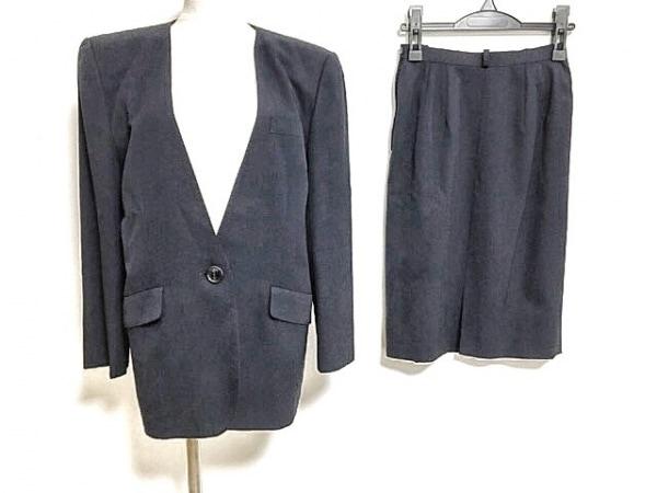 Leilian(レリアン) スカートスーツ サイズ9 M レディース ダークネイビー