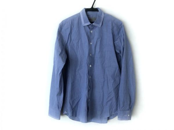 ETRO(エトロ) 長袖シャツ メンズ美品  ブルー