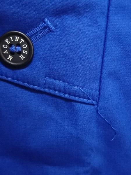 MACKINTOSH(マッキントッシュ) トレンチコート サイズ38 M メンズ ブルー 春・秋物