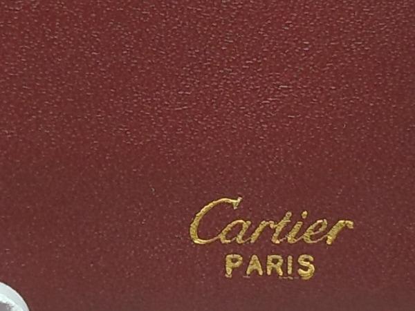 Cartier(カルティエ) 札入れ マストライン ボルドー レザー 5