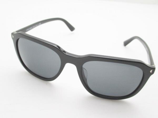 PRADA(プラダ) サングラス SPR02R-F 黒×ダークグレー プラスチック×金属素材