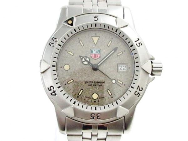 タグホイヤー 腕時計美品  プロフェッショナル200 WD1211-K-20 メンズ ラメ文字盤