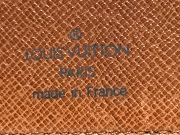 ルイヴィトン 札入れ モノグラム 札入れ(証明書ケース付き) M60872 モノグラム