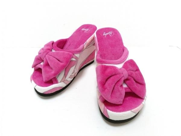 Rady(レディ) 靴 表記なし レディース新品同様  ピンク×アイボリー×グレー