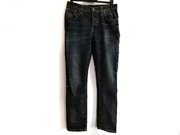 NudieJeans(ヌーディージーンズ) ジーンズ サイズ31 メンズ ネイビー×オレンジ