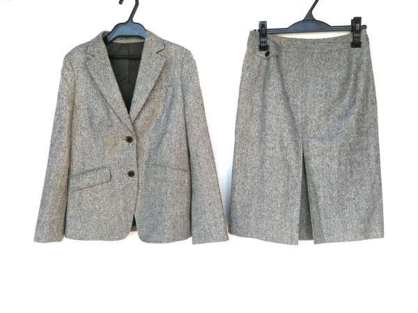NEW YORKER(ニューヨーカー) スカートスーツ サイズ9 M レディース美品  グレー