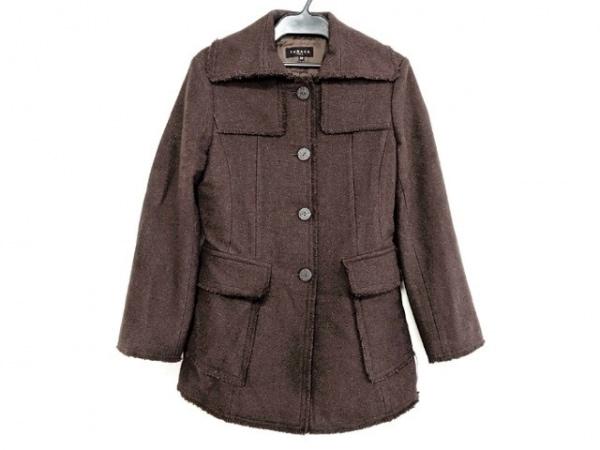 TABASA(タバサ) コート サイズ38 M レディース美品  ダークブラウン