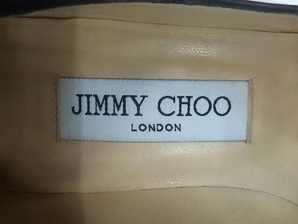 JIMMY CHOO(ジミーチュウ) パンプス 35 レディース 黒 レザー