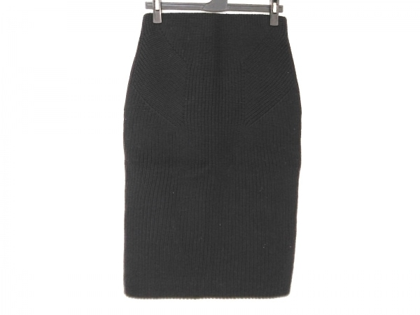 EPOCA(エポカ) スカート サイズ38 M レディース 黒 ニット
