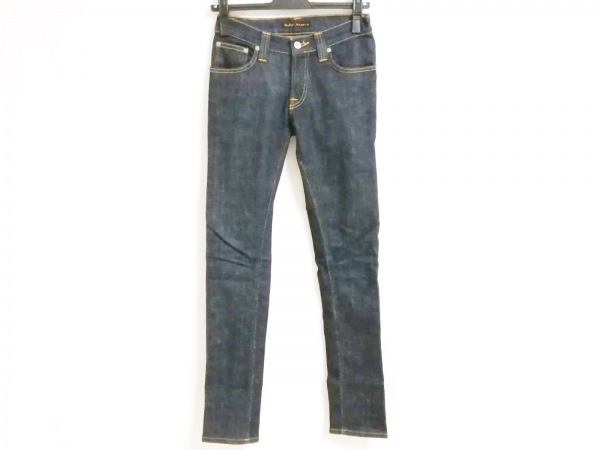 NudieJeans(ヌーディージーンズ) ジーンズ サイズ25 XS レディース ダークネイビー