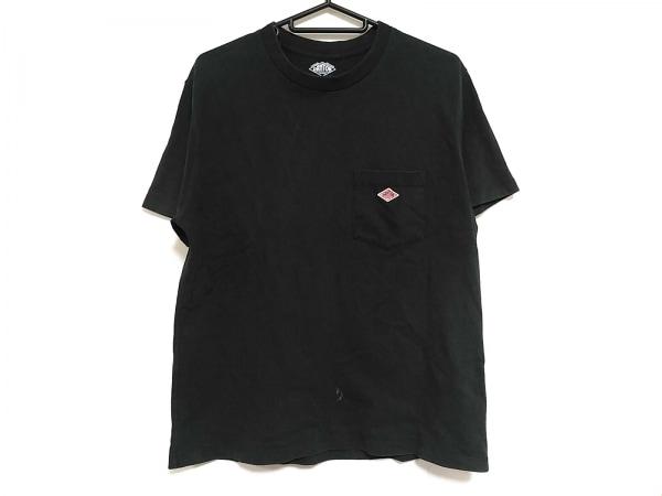 DANTON(ダントン) 半袖Tシャツ サイズ36 S メンズ 黒