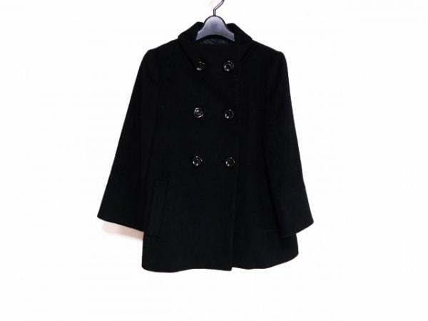 INDIVI(インディビ) コート サイズ38 M レディース美品  黒