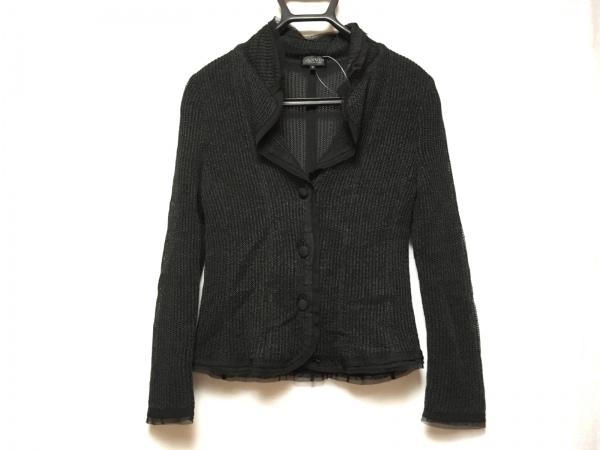 LANVIN COLLECTION(ランバンコレクション) ジャケット サイズ40 M レディース美品  黒