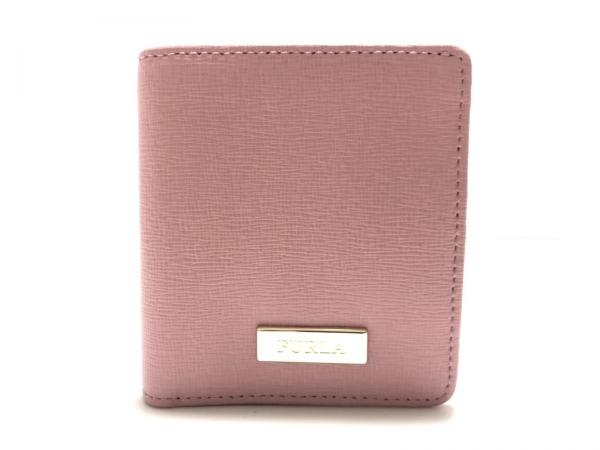 FURLA(フルラ) 2つ折り財布美品  ピンク レザー