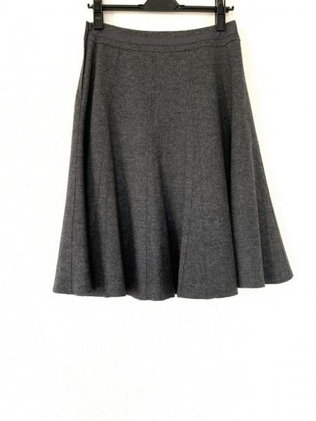 トゥービーシック ロングスカート サイズ40 M レディース美品  ダークグレー