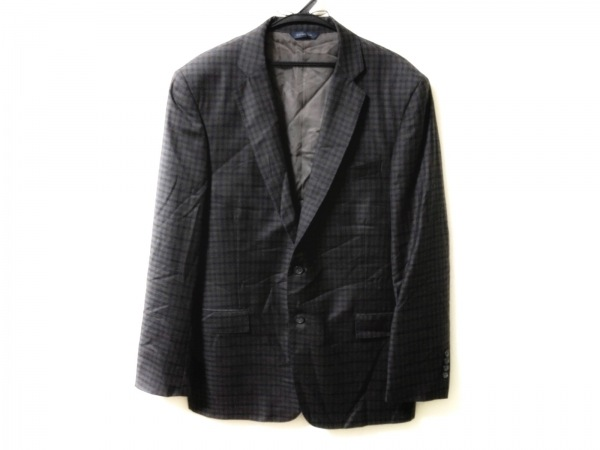 ブルックスブラザーズ ジャケット サイズ42 L メンズ 肩パッド/チェック柄