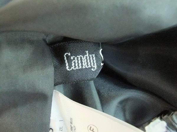 キャンディストリッパー ショートパンツ サイズS レディース美品  - - グレー×マルチ