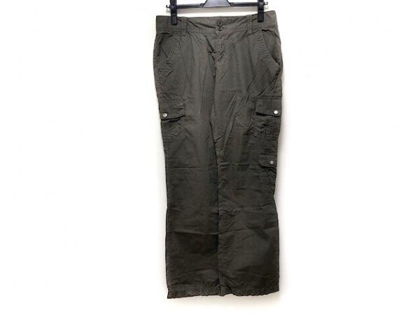 CalvinKlein(カルバンクライン) パンツ サイズ6 M レディース カーキ カーゴパンツ