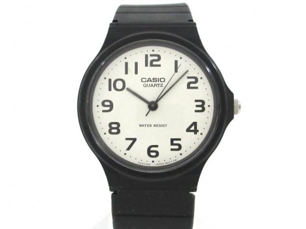 CASIO(カシオ) 腕時計 MQ-24 レディース ラバーベルト 白