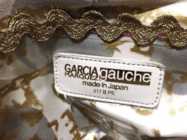 ガルシアマルケス ショルダーバッグ グリーン×黒×ゴールド PVC(塩化ビニール)