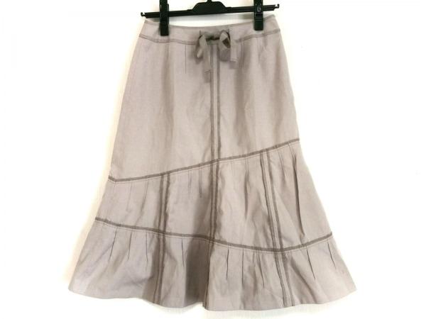 SONIARYKIEL(ソニアリキエル) ロングスカート サイズ36 S レディース ベージュ