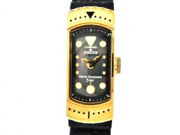 ズッカ 腕時計 1N00-0RX0 レディース ラバーベルト/CABANE de ZUCCA/シェル文字盤