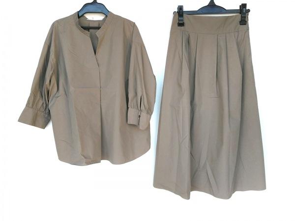 UNTITLED(アンタイトル) スカートセットアップ サイズ2 M レディース美品  グレージュ