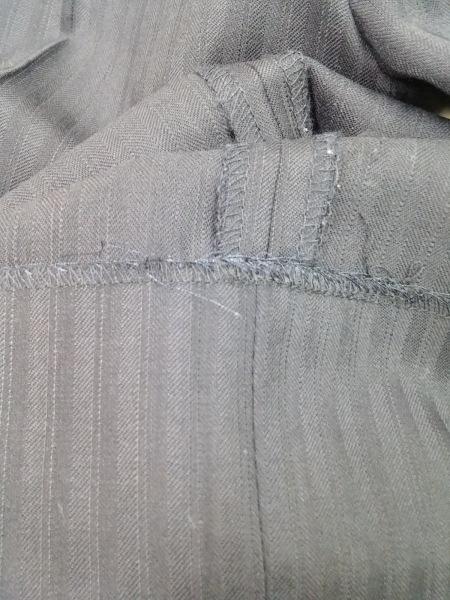 コムサメン シングルスーツ サイズ44 L メンズ ダークネイビー 肩パッド