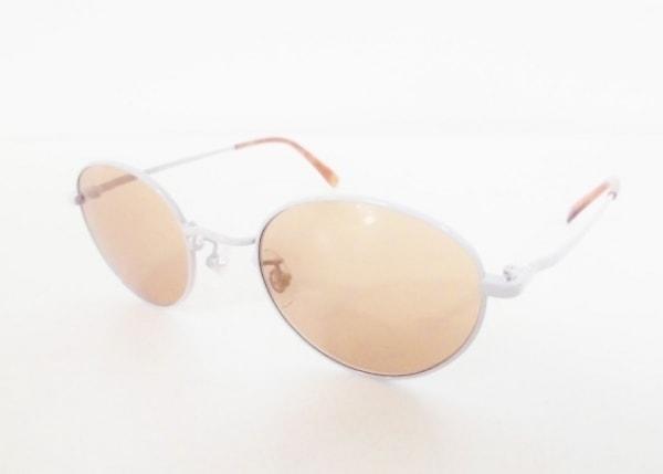 ビューティフルピープル サングラス美品  flip-up sunglasses ブラウン×白